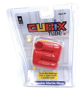 Cubix Tube Moveable The Marble Maze Toys Fun Puzzle