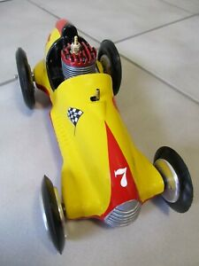 """Real McCoy"""" tether car powered by a McCoy .19 glow engine."""