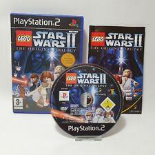 Lego Star Wars 2 II Original Trilogy PS2 Playstation 2 Game PAL UK Complete