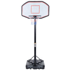 10FT Big 42''x28'' Backboard In/Outdoor Adjustable Height Basketball Hoop System