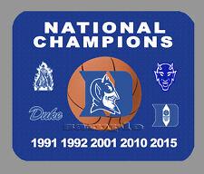 Duke Blue Devils NCAA National Championship Basketball Banner MousePad Item#396