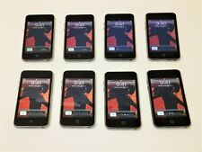 Lot of 8 Black Apple iPod Touch (2nd Gen) 8Gb Mp3 Music Players A1299 ~ Reset