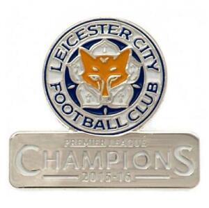 Leicester City FC Badge Champions (football club souvenirs memorabilia)