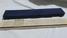 Slide Rule Calculator Vintage Russian Poket 1960`s Russian Russia USSR 5229
