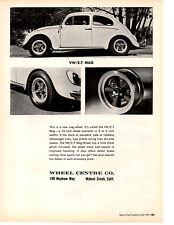 1967 VOLKSWAGEN BEETLE  ~  ORIGINAL ET MAG AD