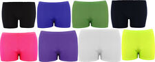 Girls/Ladies Lycra Shinny Hot Pant Shorts For Dance/Gymnastic/Sport UK