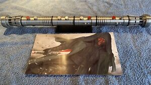 1:1 Scale 3D Printed Darth Maul Double Lightsaber Hilt Cosplay/Prop/Collectable