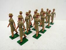 ASSET MINIATURES AUSTRALIAN WOMEN'S ARMY CORPS X 14  GLOSSY 54MM LOOSE (BS1572)