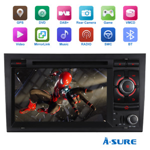 2021 Navi Autoradio CD GPS DVD DAB Navi RDS für Audi A4 S4 RS4 B6 B7 SEAT EXEO