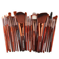 22PCS Kabuki Makeup Brushes Set Makeup Foundation Blusher Face Powder Soft Brush