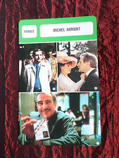 MICHEL AUMONT - MOVIE STAR - FILM TRADE CARD - FRENCH