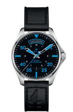 Hamilton Khaki Aviation Pilot Air Zermatt Auto Black Dial Men's Watch H64625731