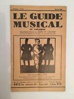 Le Guide du Musical supplément mensuel au Guide du concert les cosaques du don