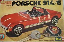 PORSCHE 914/6 REVELL SCALE 1/25 KIT PLASTIC MODEL CAR RARE