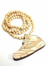 New Hip-hop fashion good wood nyc Necklace ( Jordan V )