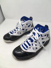 online store c4410 d4d81 Nike Air Jordan Melo M9 Shoes Mens Size 9 Blue-White-Black 551879-