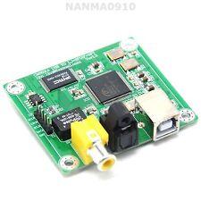 HIFI CM6631A USB 2.0 DAC to SPDIF Sup Coaxial Fiber Output 32-bit/384K Convetor