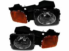 For 2006-2010 Hummer H3 Headlight Assembly Set 87591GY 2007 2008 2009