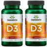 Swanson Vitamin D3 2000IU - 250 / 500 Capsules Bone and Immune Health Supplement