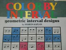 Color by Interval Geometric Designs Music Notes Theory Instructional