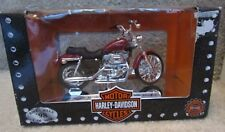 Maisto Harley Davidson 1:18 Scale Motorcycles New in Box XL 1200C Sportser
