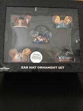 WDW Walt Disney's FANTASIA Christmas Ear Hat Ornament Set NEW in Box NIB $150
