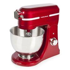 Morphy Richards 400007 800W Premium Diecast Red Stand Mixer