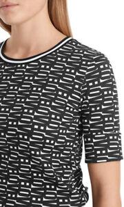 """Marc Cain Shirt mit """"Love""""-Letterprint schwarz/weiß UVP 169,90"""