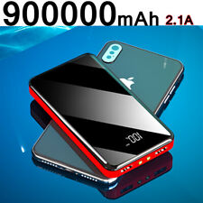 New 900000mah External Power Bank Backup Dual Usb Battery Charger For Cell Phone