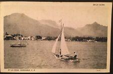 Honduras, La Ceiba Postcard. 1929