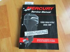 Mercury 135 150 175 200 HP Service Manual