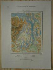 1892 Perron map PUGET SOUND, STATE OF WASHINGTON (#144)