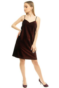 RRP €315 TOMMY HILFIGER COLLECTION Velour Dress Size 4 / S Made in Italy