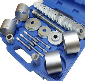 31pc Wheel Hub Bearing Brake Drum Service Tool Set Extractor Puller Wheel Hub