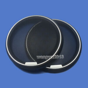 """2pcs 6"""" inch 170mm Speaker Cover Metal Mesh Grille Protection Decorative Circle"""