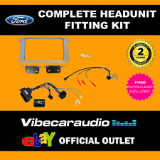 Connects2 CTKFD25 Ford Mondeo Focus Silver Double Din Fascia Stereo Fitting Kit