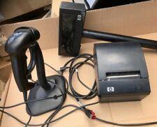 HP POS Equipment  Barcode Scanner/Customer Display/Receipt Printer Sold as 1 Lot