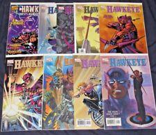 HAWKEYE #1-8 (NM-) Full Set! +EARTH'S MIGHTIEST MARKSMAN 1 Shot! Marvel 9 Comics