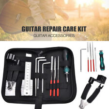 Guitar Repairing Maintenance Tools Guitar Toolkit With String Organizer Guitar Winder String Cutter Bridge Pin Peg Puller String Keep You Fit All The Time Hand Tool Sets