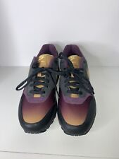 NIKE AIR MAX 1 ND HAVE A NIKE DAY SPACE PURPLE BLACK SZ 9