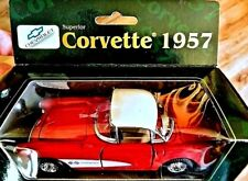 Corvette 1965 Chevy Red VTG Superior Collectible Die-Cast Model Snapback Car NIB