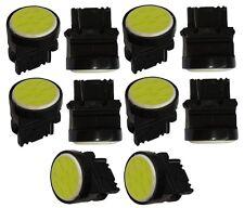 10x ampoule T25 P27W W2.4x16d 3156 12V 12LED SMD COB blanc effet xénon