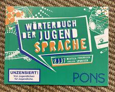 Wörterbuch der Jugendsprache. Deutsch, Französisch, Englisch, Spanisch. 2007