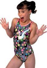 New w Tags! Skittles Snowflake Gymnastics Leotard. Free hair scrunchie. Size Cl