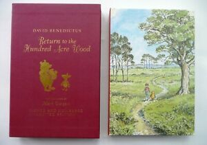 WINNIE-THE-POO RETURN TO HUNDRED ACRE WOOD by David Benedictus. signed limit ed.