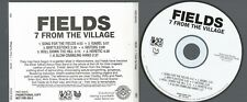 Fields - 7 From The Village CD US promotional Rare version Low Postage Black Lab