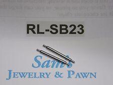 2 Swiss Fat Spring Bar 20mm Rolex Submariner 1675 Sea Dweller 1655 1665 #RL-SB23