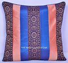 "Indian Handmade Pillow Case Patchwork Pillow Home Decor Silk Cushion Cover 16"""