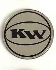 "Black Key West Boat Decal /""230/""  Silver"