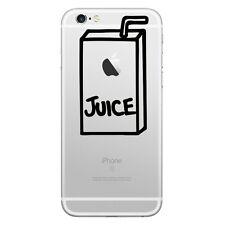 Sticker für iPhone 8 / 7 / 6 & PLUS Modell / Aufkleber Decal Trinkpäckchen Juice
